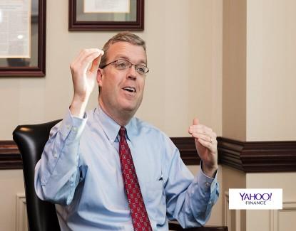 "Yahoo! Finance - ""Stocks Soar Despite Volatility Fears"""