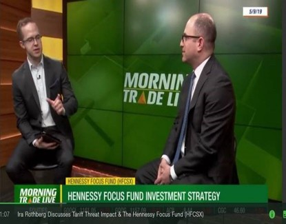 "TD Ameritrade Network – ""Tariff threat impact and the Hennessy Focus Fund"""