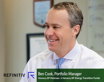 """Refinitiv - """"Lipper Leaders Spotlight - Hennessy Fund Generates Consistent Returns With Energy Investments"""""""