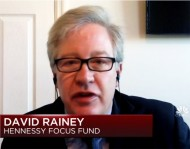 """CNBC- """"Hennessy Funds' David Rainey on Where He Sees Opportunity in the Markets"""